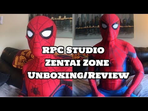 UNBOXING/REVIEW RPC Studio & Zentai Zone Spider-Man Homecoming Suits!