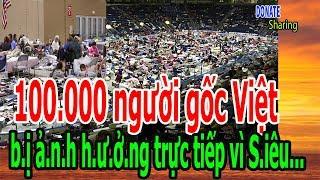 100000 ngi gc Vit b nh hng trc tip v Siu Bo Irma - Donate Sharing