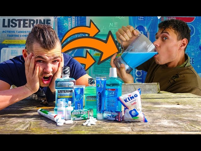 MINSTE DRINKEN IN DE WERELD! (GEVAARLIJK!)