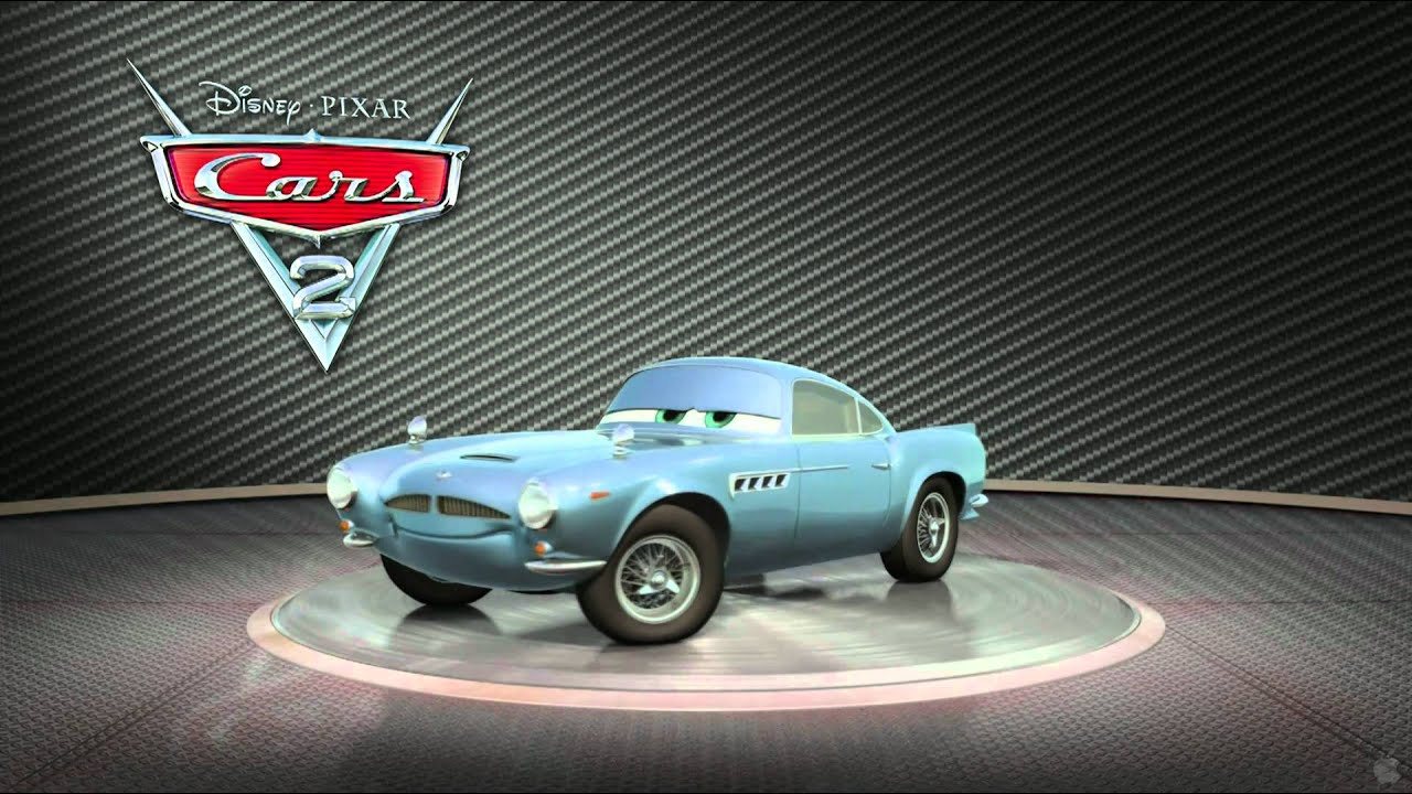 Cars 2 Finn McMissile - YouTube