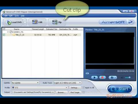 How to rip your DVD to any formats---Aimersoft DVD Ripper