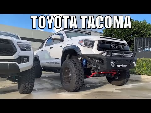 Toyota Tacoma 2018, Lifted Fox Suspension