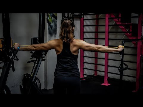 20 Upper Body Resistance Band Exercises