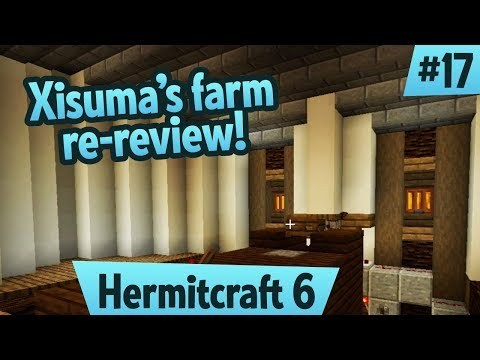 Xisuma's Skeleton Farm Re-Reviewed! — Hermitcraft 6 ep 17
