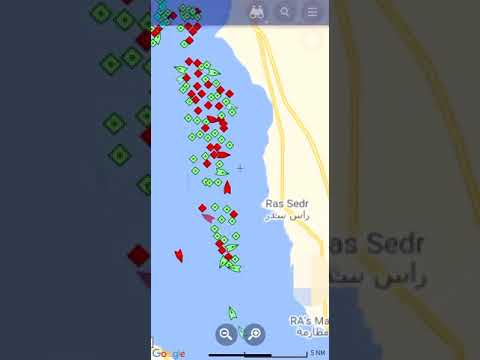 Suez Canal - Global Ship Traffic
