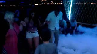 kamer abla ile ALANYA  tekne turunda Turkısh  köpük dansı