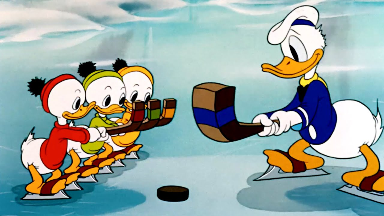 The Hockey Champ A Classic Mickey Cartoon Have A Laugh Youtube