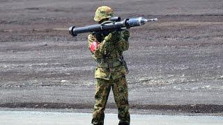 Japan Howa 84 RR Carl Gustav M2 & HIH Aerospace 110mm LAM Panzerfaust 3
