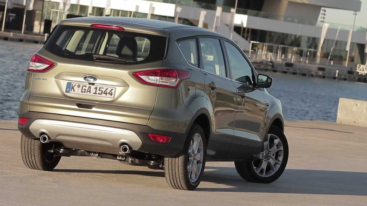essai ford kuga 2 0 tdci 163 4x4 powershift titanium youtube. Black Bedroom Furniture Sets. Home Design Ideas
