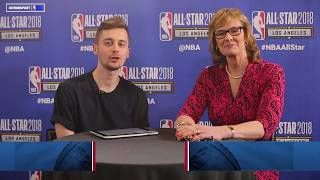 Jackie MacMullan shares Larry Bird stories | GiveMeSport