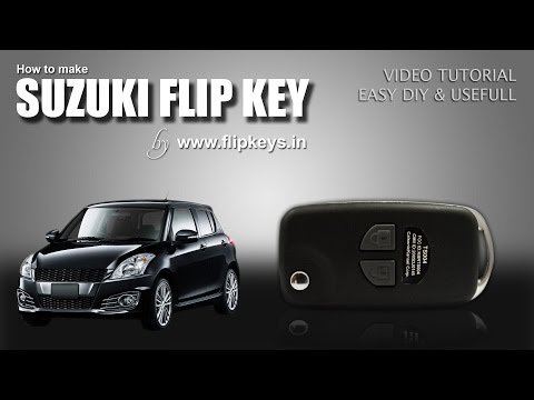 Maruti Suzuki Swift Flip Key (www.flipkeys.in)