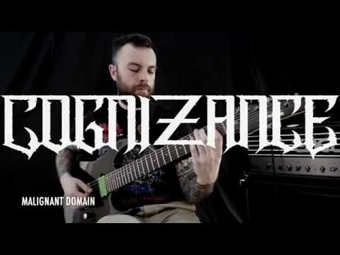 COGNIZANCE - Malignant Domain (Official Instrumental Playthrough Video)