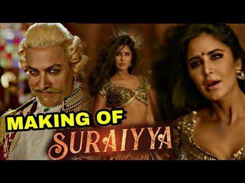 "Making Of Suraiyya Song Out Now From ""Thugs Of Hindostan"" ,Aamir Khan, Katrina Kaif, PrabhuDeva"