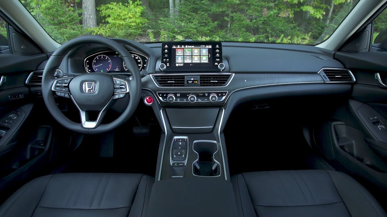 2018 Honda Accord Interior 2 0t Touring Us Spec Youtube