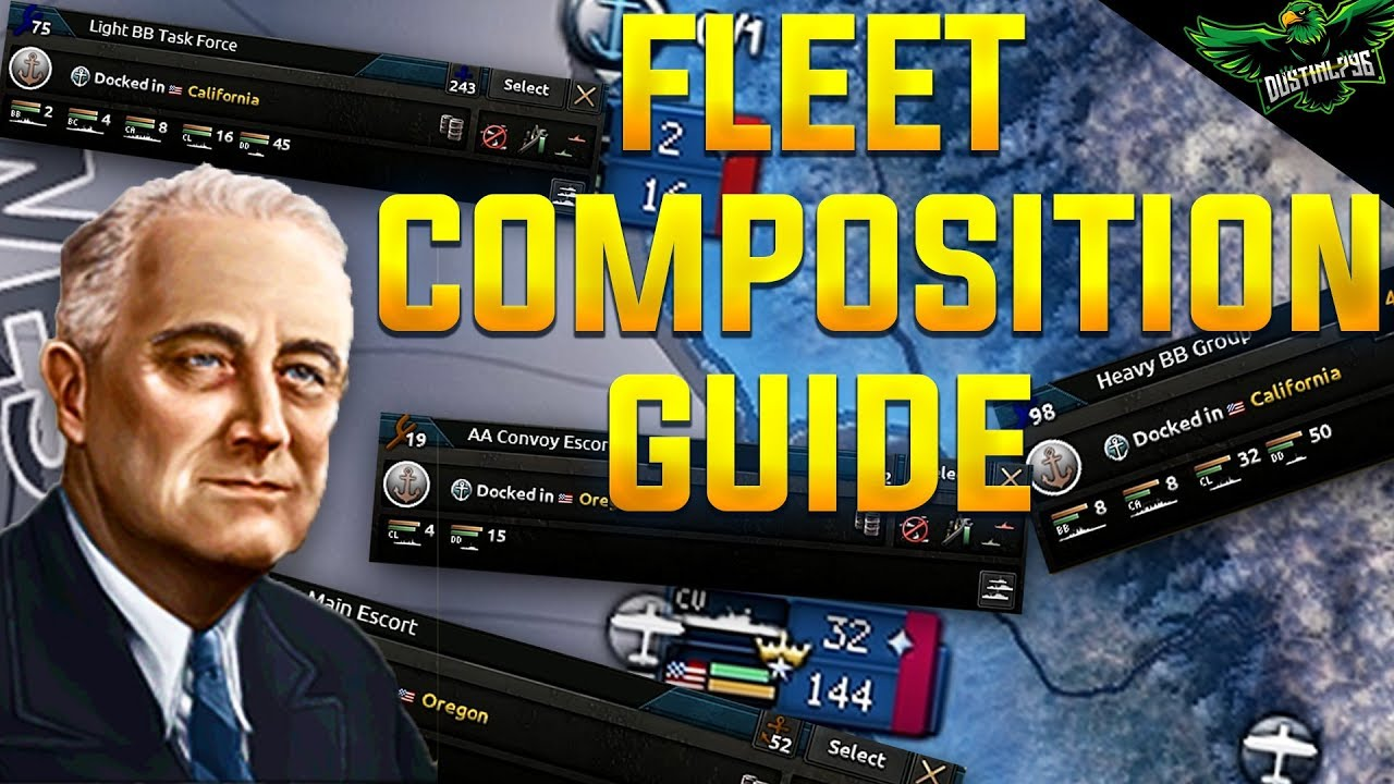 HOI4 Fleet Composition Guide (Hearts of Iron 4 MTG Expansion Tutorial)