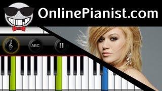 Kelly Clarkson - Dark Side - Piano Tutorial