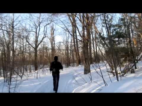 Running Down the Mason Brook Trail 02/24/11