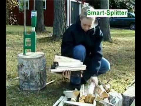 Le fendeur de b ches smart splitter sur vid o de d monstration youtube - Fendeur de buche fait maison ...