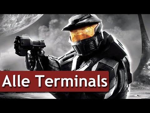 Halo Anniversary - Alle Terminals - German / deutsch