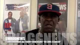 SWAGG NEWS - LOUIE OX RANKIN aka TEDDY BRUCKSHUT - NO LOVE FOR CANCER