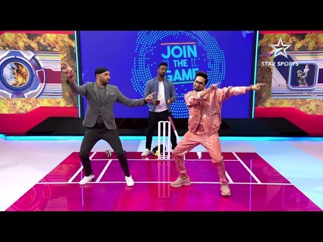 Nerolac Cricket LIVE: Bhajji and Ayushmann shake a leg!