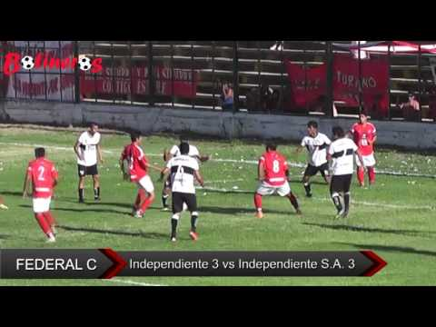 Federal C: Independiente 3 vs Independiente SA 3