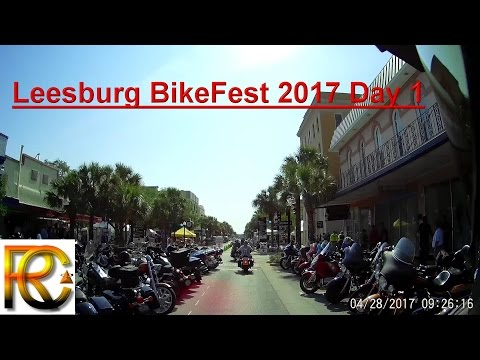 Leesburg BikeFest Day 1 April 28th, 2017