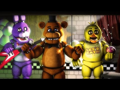 """[FNAF SFM] """"Old Times"""" (Five Nights at Freddy's 1 Animation)"""