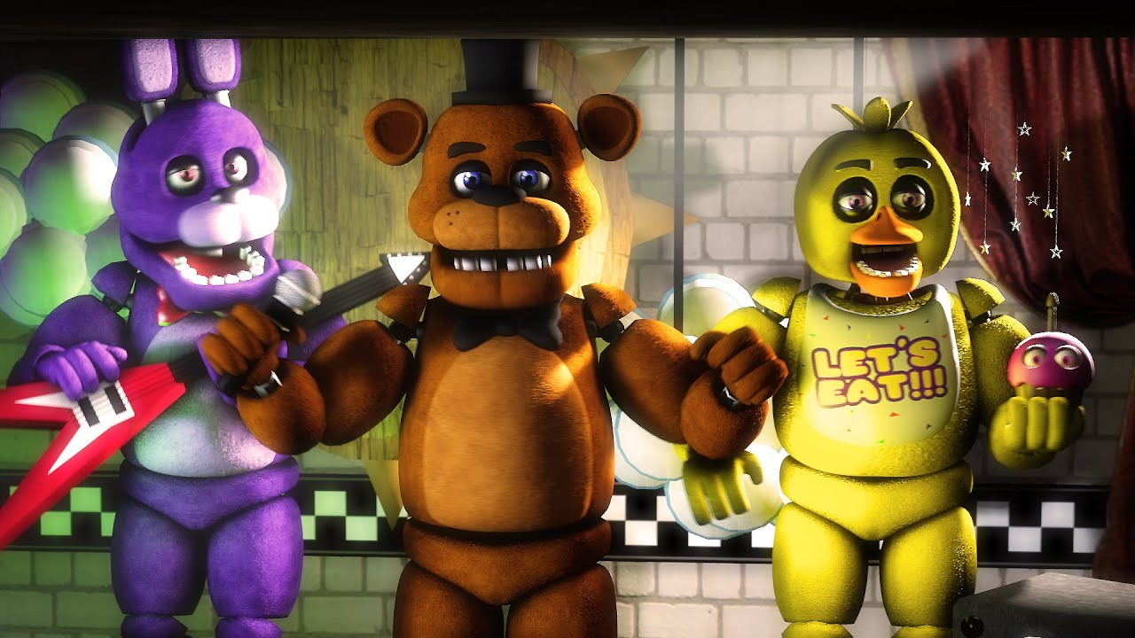 Fnaf sfm quot old times quot five nights at freddy s 1 animation youtube