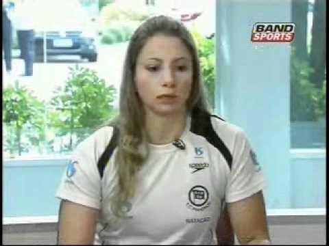 Entrevista da Band Sports com Flávia Delaroli | Natação