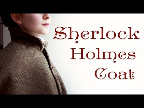 Making A Sherlock Holmes Inverness Coat