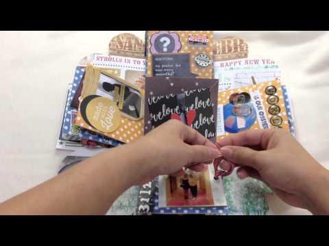 Exploding box / Handmade / Anniversary gift idea / surprise / DIY craft