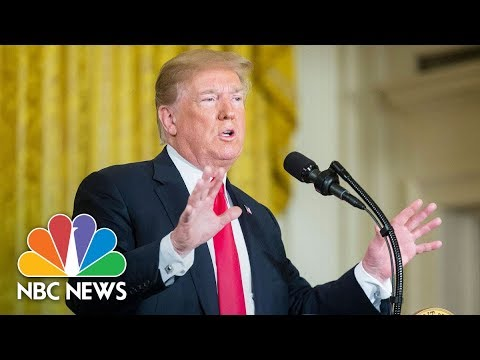 President Donald Trump: We Will Have The Space Force, 'Separate, But Equal' | NBC News