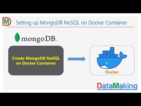 MongoDB On Docker Container   Docker Practical Tutorial   Part 8   Data Making   DM   DataMaking