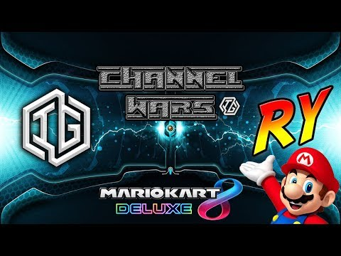CHANNEL WARS 1 - Isles Gaming VS Indiana Ry (YouTuber Battle) Mario Kart 8 Deluxe - Nintendo Switch