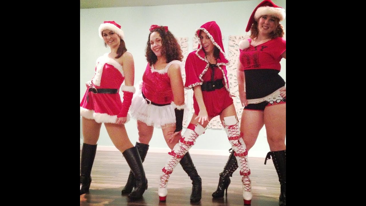 gym in a chair kitchen barstools chairs sexy santa baby dance lotus fitness studio orlando, fl - youtube