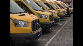 Автопарк школ Марий Эл пополнился новыми автобусами