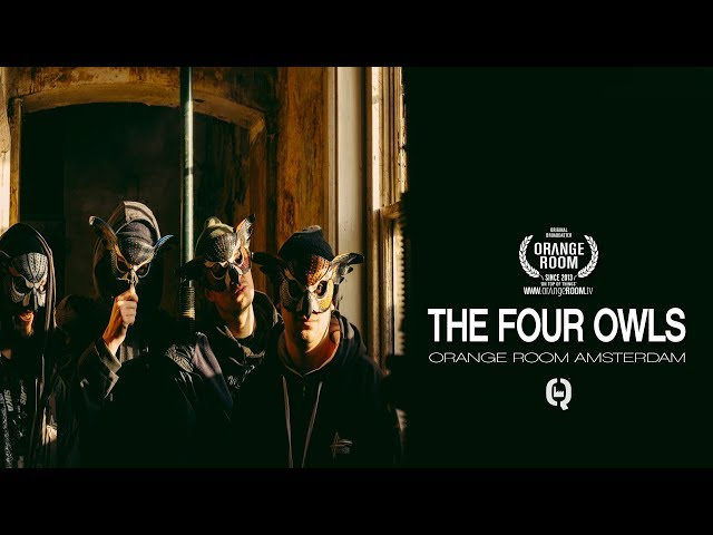 THE FOUR OWLS x SOCIAL CUP x Q-FACTORY AMSTERDAM