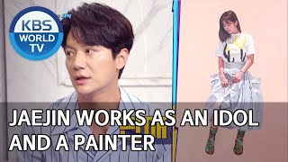 Jaejin works as an idol and a painter [Happy Together/2020.02.13]