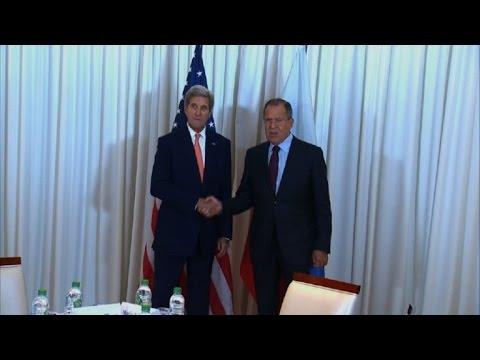 Kerry, Lavrov kick off Syria talks in Geneva