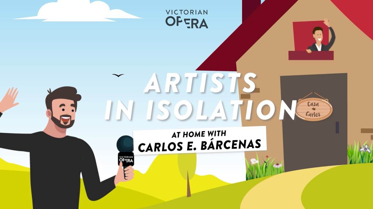 Artists in Isolation: Carlos E. Bárcenas