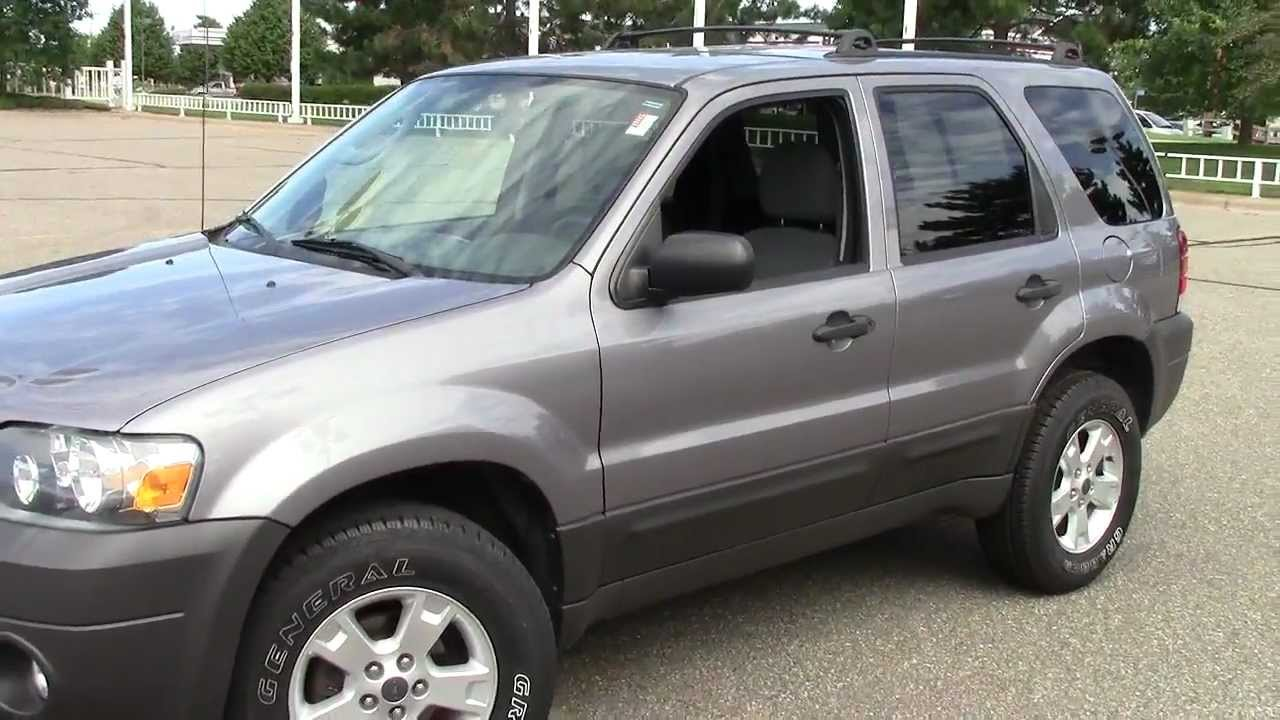 2007 Ford Escape Xlt Youtube