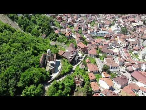 Travelkolik Kosova Prizren Castle By Drone