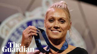 Erin Phillips on AFLW gong: People felt sorry for dad for not having a son to play footy