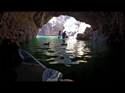 Paddle Boarding the Black Canyon in Nevada