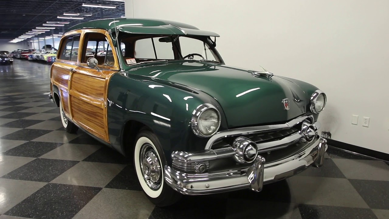 1273 TPA 1951 Ford Country Squire Woody Wagon
