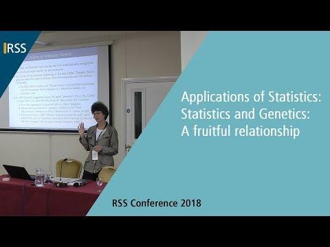 Applications of Statistics: Statistics and Genetics: A fruitful relationship