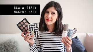 usa and italy makeup haul mac urban decay kiko cosmetics wet n wild and more   mademoiselle