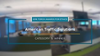 2016 BBB Torch Awards for Ethics Winner: American Traffic Solutions