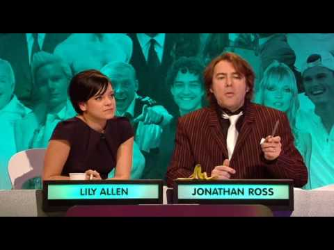 Big Fat Quiz of the Year 2007 - Heather Mills bit 1